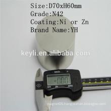 Ndfeb Magnet 70x30 - Manufacturer Supply