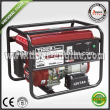 TIGER Industrial machinery SH3900DXE gasoline generator 2.3KW/6.5HP