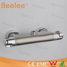 Mélangeur thermostatique balayé de barre de douche de nickel (barre de mélangeur de douche, barre de robinet de douche)