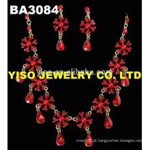 Novo conjunto de jóias de casamento