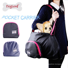 Portatil portátil Pet Carrier Dog Cat bolsa de transporte ao ar livre