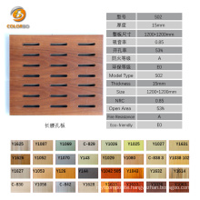 Eco-Friendly Wall Decorative Wooden Timber Acoustic Panel with Promotional Price