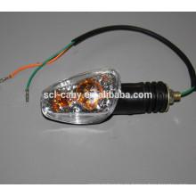 SCL-2012110456 HAOJIN partes de motocicleta led luces indicadoras con cable