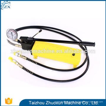 Cilindro hidráulico portátil de la bomba de mano de la venta caliente de China