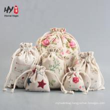 popular high quality design custom linen pouch