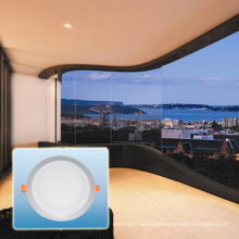 6W Double Color Round Panel Light/Down Light