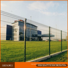 PVC Coated 3D Residential Wire Mesh Fence