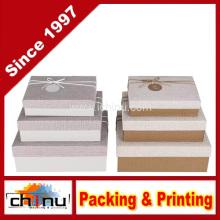 Caixa de presente de papel com OEM personalizado e em estoque (110386)