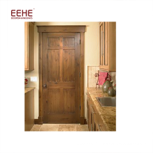 Porte d'entrée en bois massif de luxe
