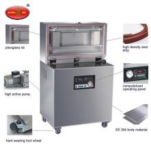 Automatic single chamber food meat grains table vacuum sealer vacuum packing machine