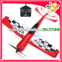 NEW ITEM WL F929 RC Airplane WL F929 4CH RC Plane with Gyro Electric 2.4G Remote Control Plane with LCD Controller Plan