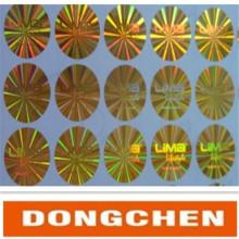 Dongguan Factory High Quality Waterproof Security 3D Hologram Sticker