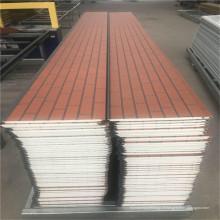Panneaux sandwich muraux isolés au métal de mousse de polyuréthane