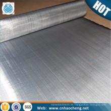 En stock 304 316L holandés tejer malla de filtro de acero inoxidable 1 micrón de ropa de metal