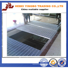 High Quality and Low Price Galvanized Serrated Trench Steel Grating