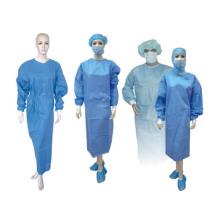 Robe de chirurgien jetables non tissé médical