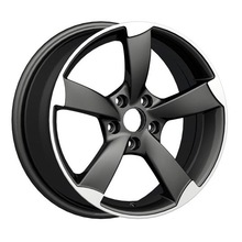 Audi A6 Replica Wheel 5X112 Matt Black