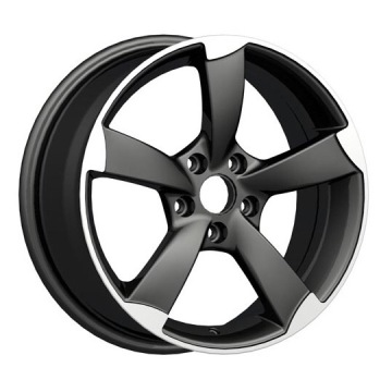 Audi A6 Replica Wheel 5X112 Nero opaco