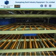 Flow Self Slide Steel Roller Warehouse Storage Rack