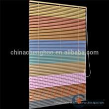 Cortinas de janela de alumínio coloridas arco-íris