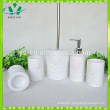 White Dolomite Bathroom sets