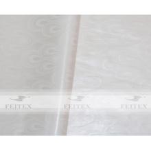 Couleur blanche Africain brocade guinée bazin riche jacuqard tissu 100% coton doux parfum