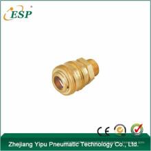 ESP brass pneumatic air quick coupler