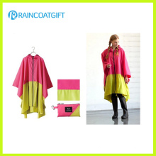 High Quality Nylon PU Rain Poncho Rpy-047
