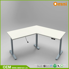 Modern Single Person 120 Degree Height Adjustable Table