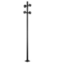 Luz de inundação de alta proteção em postes altos para porta dianteira / traseira