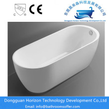 Freestanding tub modern bathtub 4.5 ft