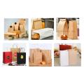 Máquina automática de saco de papel de fundo quadrado de alta velocidade