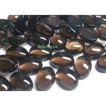 Cabochons de pierres précieuses Quartz fumé pour bijoux Set (SM0020)