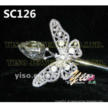 Cetro de cristal de borboleta