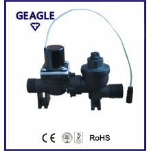 Válvula de solenóide automático de plástico para vaso sanitário para água do mar ZY-F18