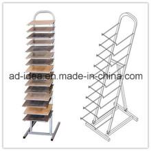 White Tile Display Stand/Quartz Custom Display Tower