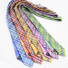 Korean Style Floral Imported Silk Mens dünne Krawatte