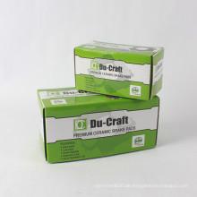 Fabrikproduktions-Papierkarton-gewölbter kundenspezifischer Verpackenkasten