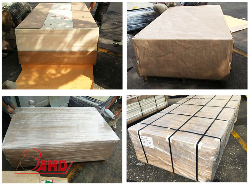Packing of PU sheet