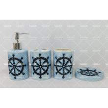 Navy Style Bathroom Set