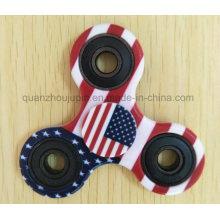 OEM Print Beyblade Hand Fidget Spinner Toy for Release Pressure