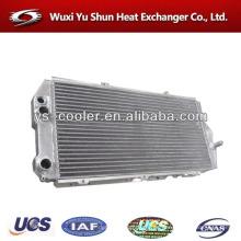 Fabricante de la venta caliente de alto rendimiento de placa personalizada y barra de aluminio de agua caliente intercambiador de calor