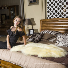 super quality fur shag runner soft hairy carpet sheep skin rug