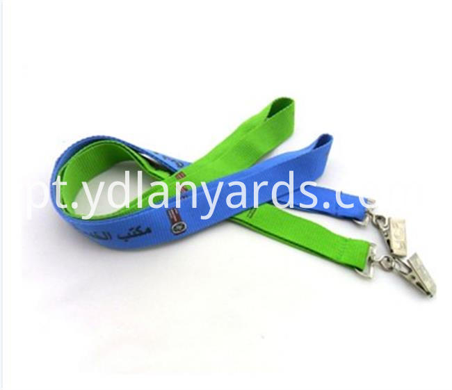 High Quality Silk Screen Lanyards