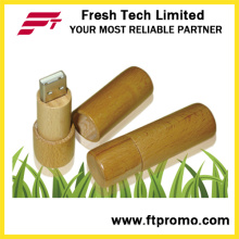 Cylindre Bamboo & Wood Style USB Flash Drive (D809)