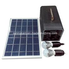 Système d'énergie solaire portable 10W pour camping Utilisation à domicile
