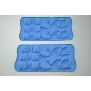 Love Hearts Shape Tray Cake Maker in silicone per torta