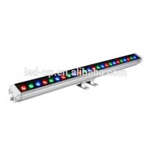 Prix d'usine Zhongshan IP65 LED Wall Washer lights led rgb Aluminium Housing 24w