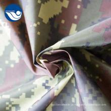 Tela de impressão tingida do tafetá da malha para fazer o exército