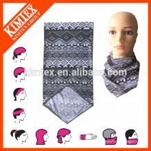 Microfiber lenço multifuncional tubo sem costura headwear